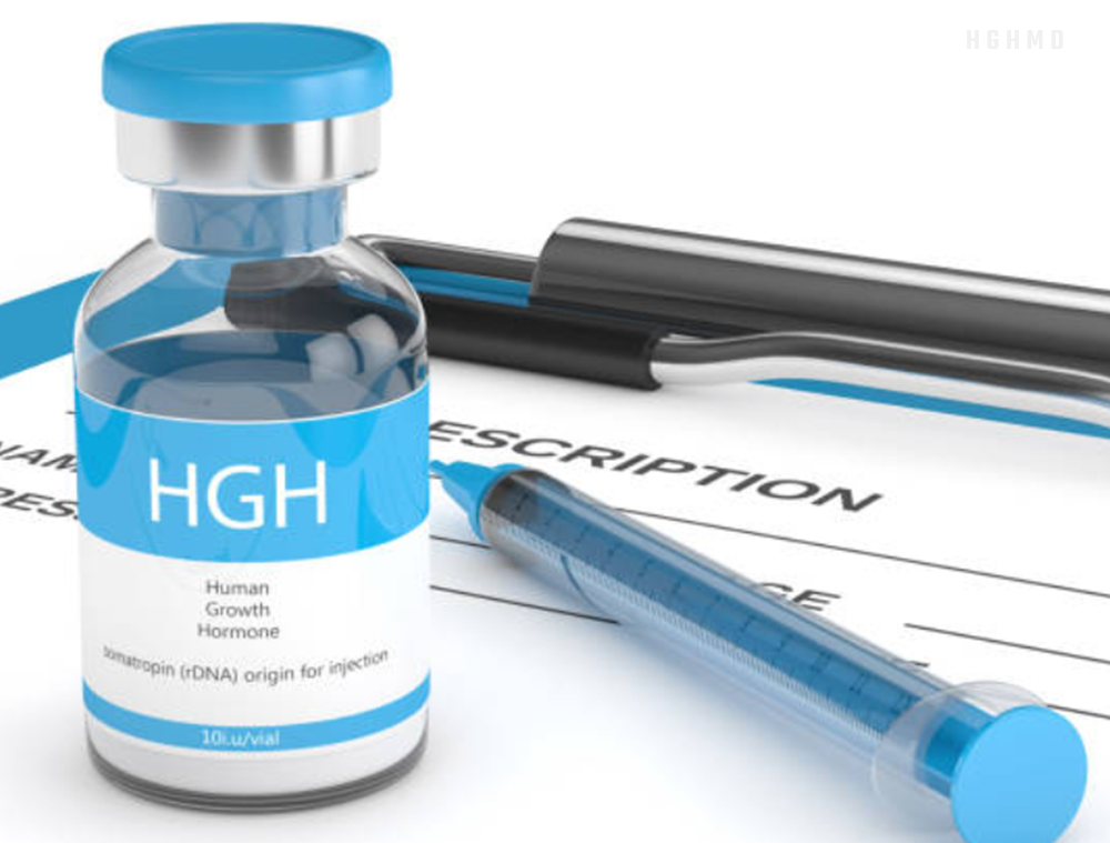 A growth hormone test can be used
