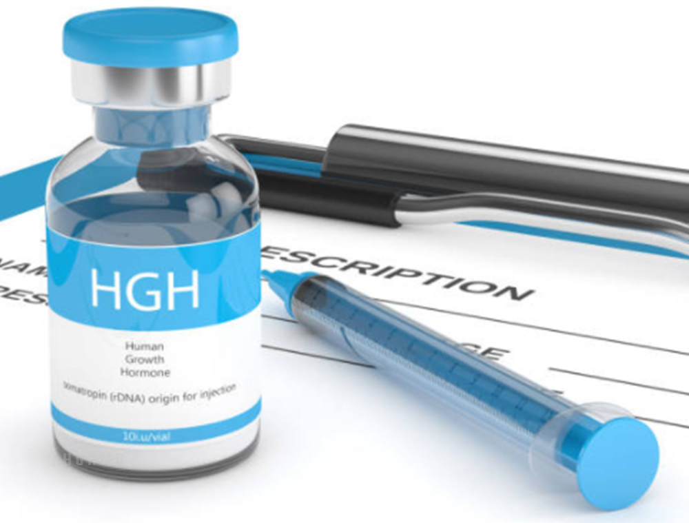Forms of injectable HGH